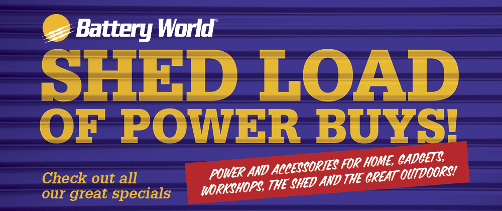 Battery World - 3rd September - 9th September