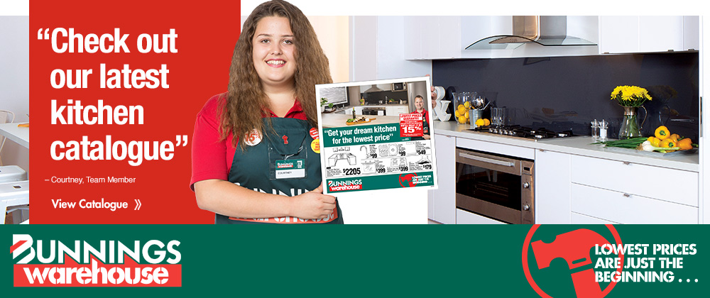 Bunnings NZ - Get your dream kitchen for the lowest price March 2015