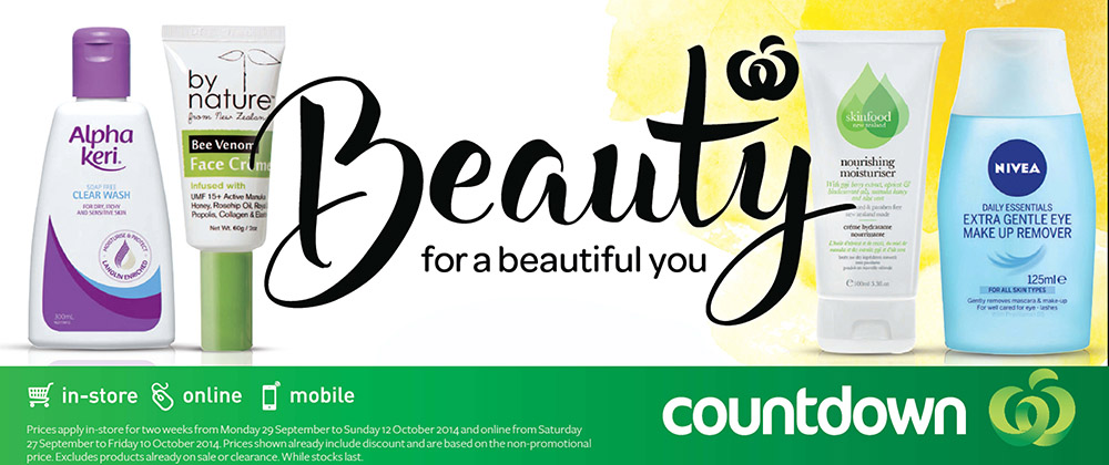 Countdown - Beauty September 2014