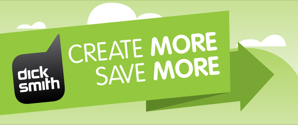 Dick Smith - Create More, Save More 2014