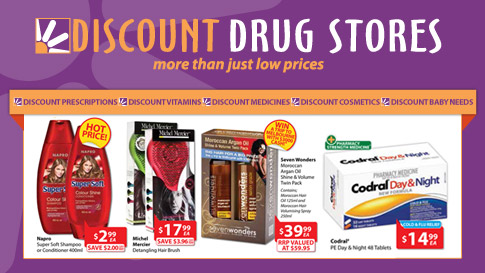 Discount Drug Store 15-21 May 2013
