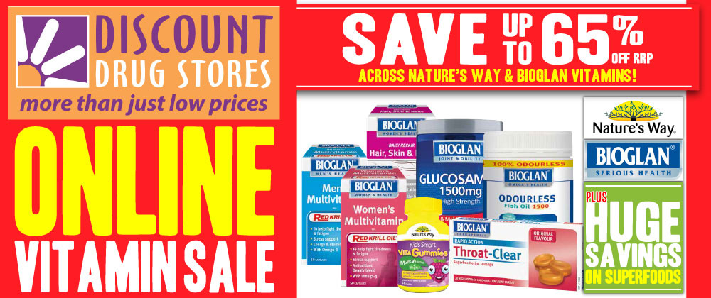 Discount Drug Stores - 30th July - 5th August