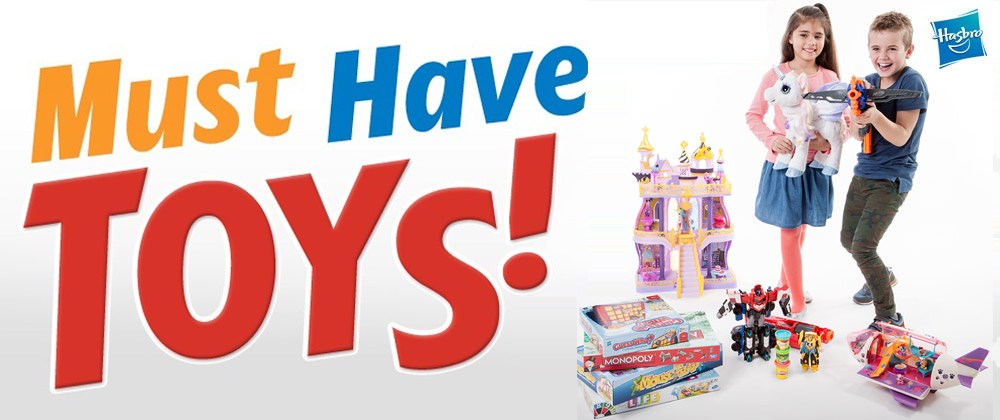 Hasbro - 1st July - 7th July