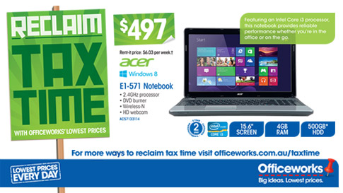 Officeworks 23-28th May 2013