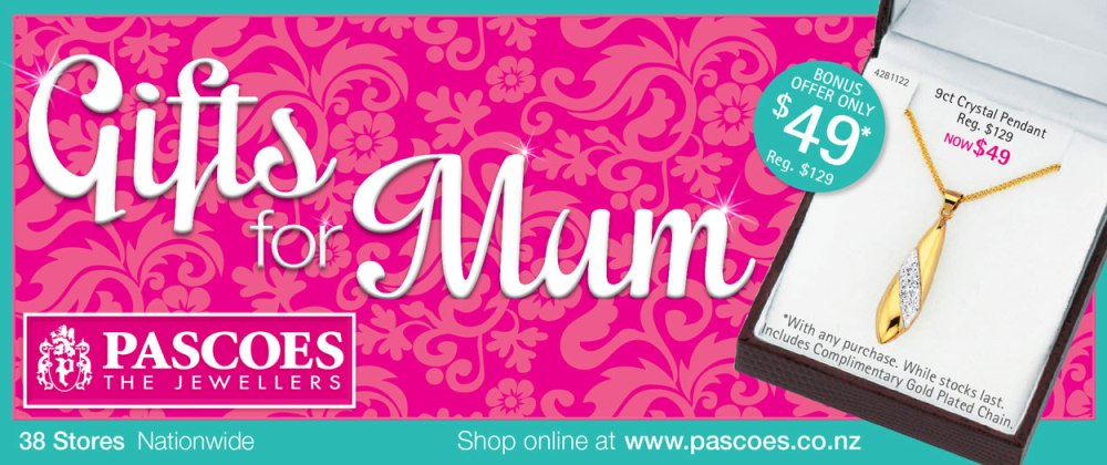 Pascoes Catalogue: Gifts For Mum