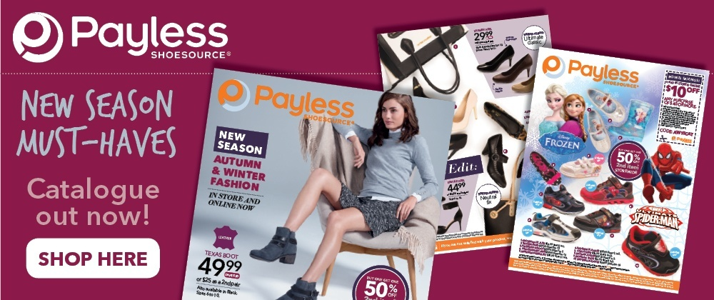 Payless Shoes - 1st April - 7th April