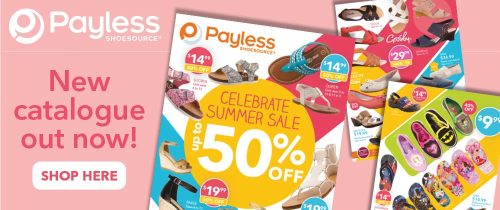 Payless Shoes - 25th Nov - 1st Dec