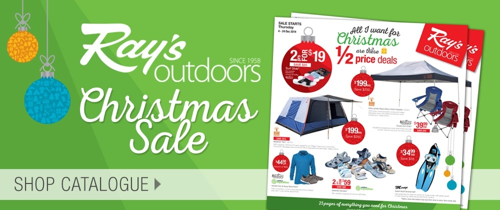 Rays Outdoors - 17th December - 23rd December
