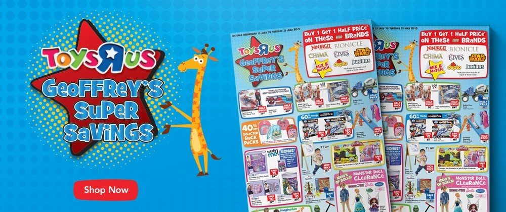 Toys R Us - 22nd July - 28th July
