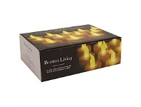 Briscoes LED White Tealight Candles 12 pack