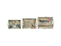 LivingStyles Saint Jacques Set of 3 Trays with Sayings